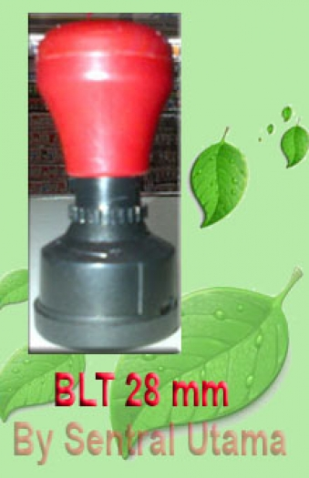 Stempel Bulat Diameter 28 mm
